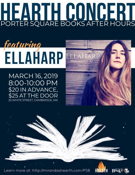 Porter Square After Hours Featuring EllaHarp
