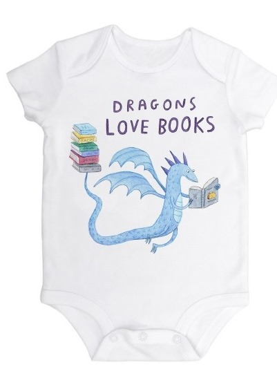 Dragons Love Tacos Onesie