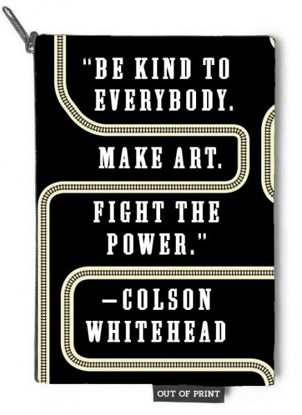Fight the Power Pouch Featuring Colson Whitehead