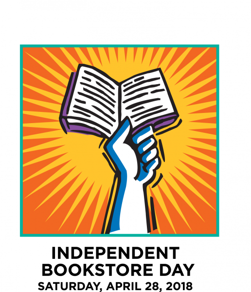 Logo for Independent Bookstore Day 2018