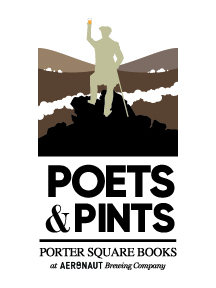 Poets and Pints reading series at Aeronaut Brewing