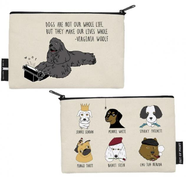 Author's Best Friend Canine Pouch Independent Bookstore Day