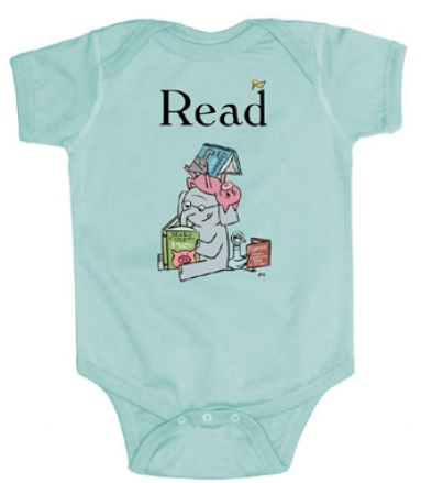 Elephant and Piggie Read Onesie for Independent Bookstore Day